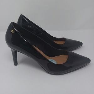 Calvin klein Nilly Black Patent Leather Heels